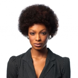 Perruque Afro - 100% Cheveux Naturels - Wig Fashion - Sleek