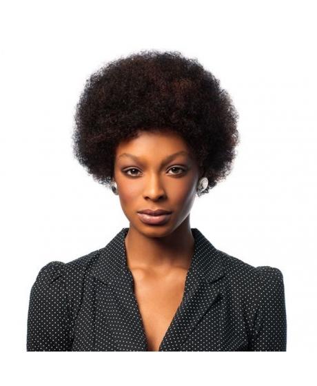 Perruque Afro - 100% Cheveux Naturels - Wig