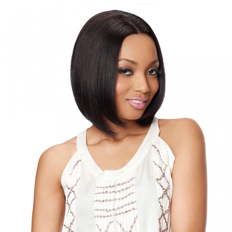 perruque tanya left 100 cheveux naturels wig fashion sleek hair. Black Bedroom Furniture Sets. Home Design Ideas