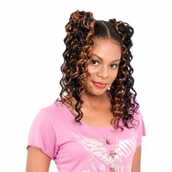 Tissage Heat Weave - Synthétique - Noble - Sleek hair