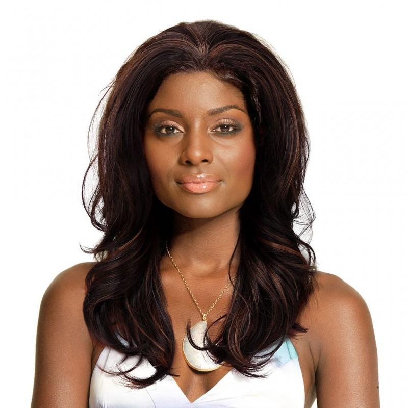 perruque sandy demi t te semi naturelles wig fashion sleek. Black Bedroom Furniture Sets. Home Design Ideas