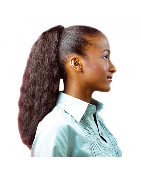 Postiche Super Weave Knot - 100% Cheveux Naturels - EZ Pony - Sleek