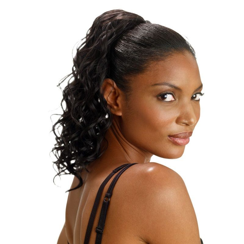 postiche chignon cheveux naturels