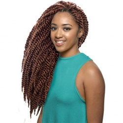 Crochet Braid Reggae Twist Synthétique - Noble - Sleek hair
