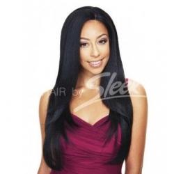 Perruque Kourtney - Lace Front Wig - Semi-Naturelles - Sleek hair