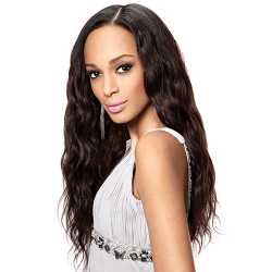 Tissage Brazilian Gold Wavy - Virgin Gold - Sleek hair