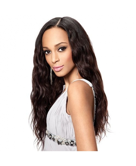 Tissage Virgin Gold Brazilian wavy - Sleek hair