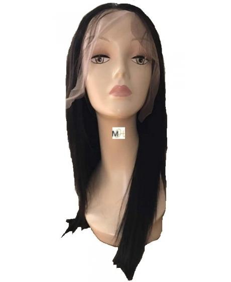 Perruque Lace Front Cheveux Humains Brésiliens Vierges Lisse - 90°