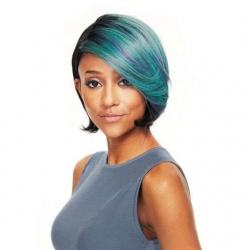 Perruque Bree Color SL BLUE - Cheveux Naturels - Wig Fashion - Sleek hair