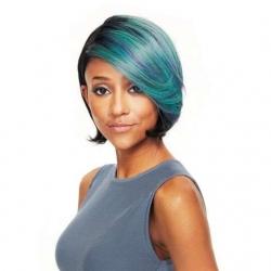Perruque Bree Color SL BLUE - Cheveux Naturels - Wig Fashion - Sleek hair