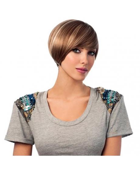 Perruque Chanelle - 100% Cheveux Naturels - color DYTT4 - Sleek