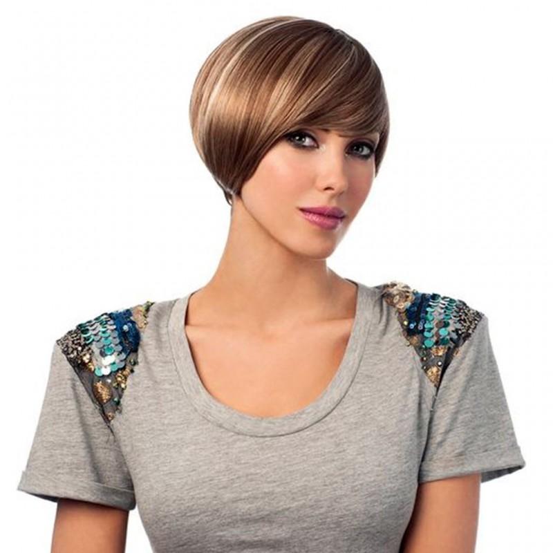 perruque chanelle cheveux naturels couleur dytt4 de sleek hair. Black Bedroom Furniture Sets. Home Design Ideas