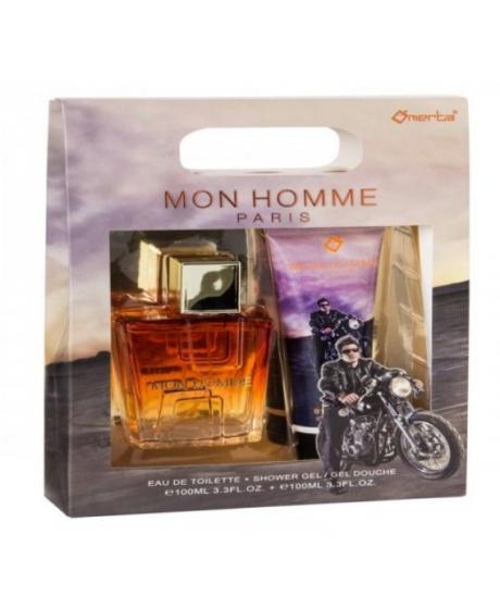 Coffret Eau de Toilette & Gel Mon Homme Paris pour homme - Omerta