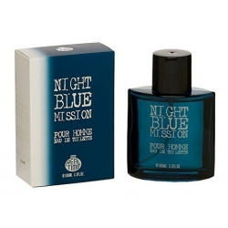 Real Time - Night Blue Mission Eau de Toilette pour Homme 100ml