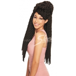 "Tissage Mambo Satin Twist 22"" Fashion Idol Express de Sleek hair"