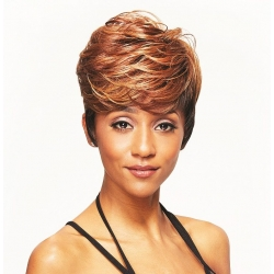 Perruque Shay Semi-Naturelle Mixed Color Wig Fashion 101 de Sleek hair