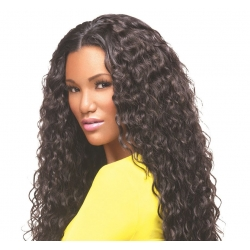 Tissage Brazilian Gold Curl de Virgin Gold - Sleek hair
