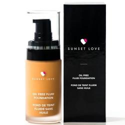 Fond de Teint Fluide Sans Huile - Sunset Love Cosmetics