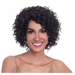 Perruque Brésilienne DALVA - Virgin Gold Natural Black de Sleek