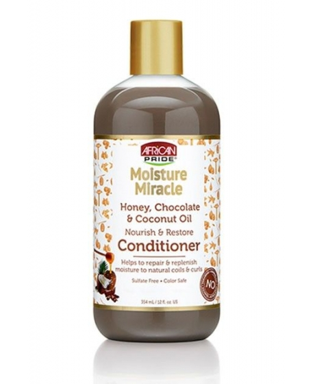 African Pride Moisture Miracle Honey & Chocolate Coconut - Shampooing Coco & Miel
