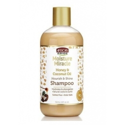 African Pride Moisture Miracle Honey & Coconut Oil Shampoo - Shampooing Coco & Miel