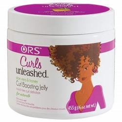 ORS Curl Boosting Jelly Curls Unleashed - Gel fixant Aloe Vera et Miele
