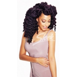 "Tissage Mambo Satin Twist 12"" Tie and Dye de Sleek"
