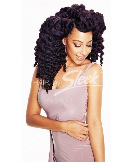 Tissage Mambo Satin Twist Tie and Dye TT de Sleek