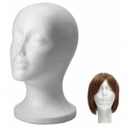 Tête de Mannequin pour Femme de couleur blanche