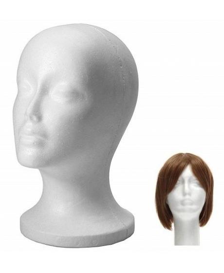 Tete de Mannequin pour Femme de couleur blanche