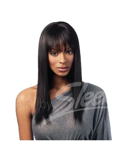 Perruque Superb - Cheveux Naturels Couleur Tie and Dye - Sleek