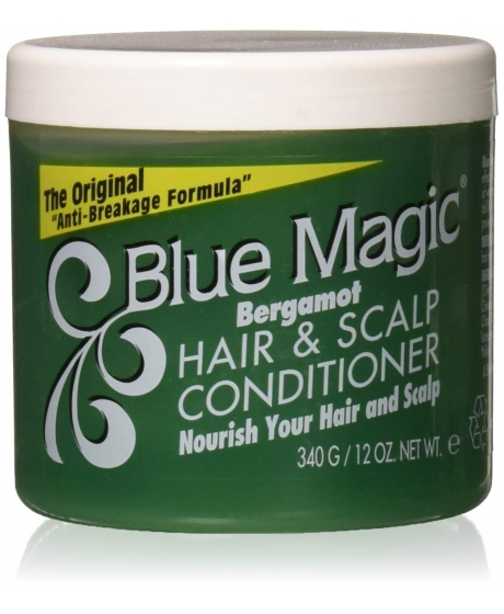 Blue Magic - Conditioner Hair Scalp - Brillantine à la Bergamote