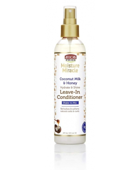 African Pride Moisture Miracle Leave in Conditioner Spray