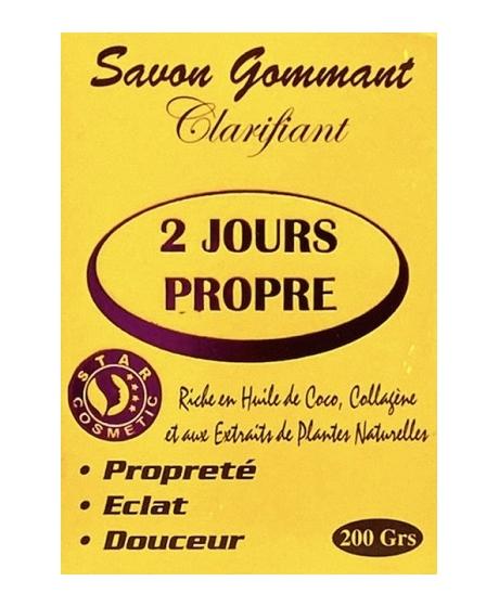 2 Jours Propre Savon Gommant Clarifiant