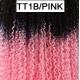 Mèche Cro Loose Passion Twist Crochet Freedom Couleur TT1B/PINK