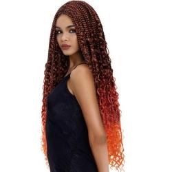 Mèche Cro Bohemian Box Braid Crochet Freedom de Sleek hair