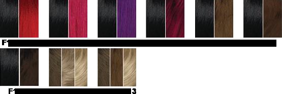Charte couleur Sleek F
