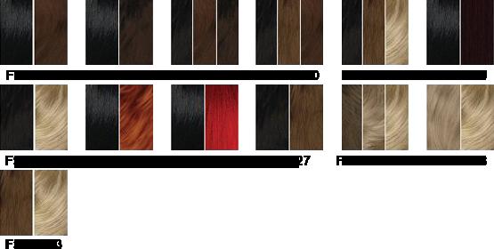 Charte couleur Sleek FS