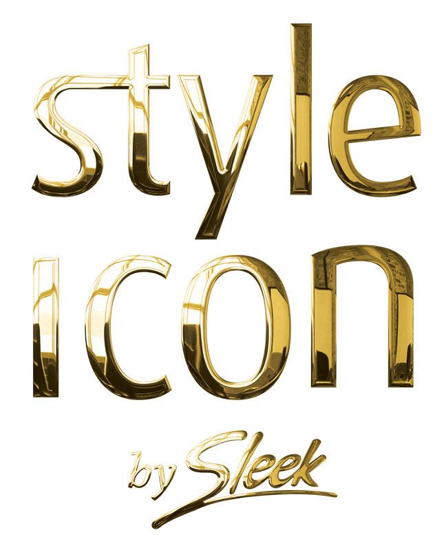 Gamme Style Icon de la marque Sleek hair